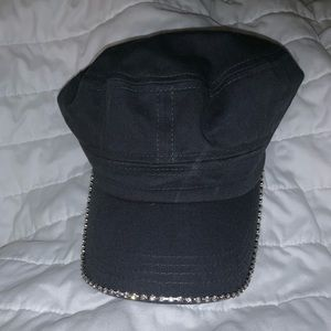 Dark gray hat